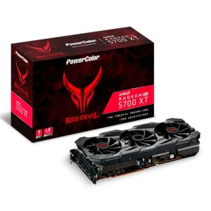 Placa de Video PowerColor Radeon 5700 XT 8GB Red Devil 256-bit, AXRX 5700 XT 8GBD6-3DHE/OC