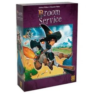 Broom Service - Grow - Jogo de Tabuleiro