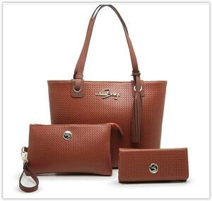 Kit Bolsa Feminina Tipo Sacola + Necessaire + Carteira Willibags R$ 60