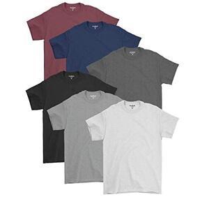 Kit 06 Camisetas Básicas Masculinas De Algodão Premium | R$100