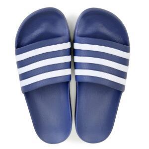 Chinelo Adidas Adilette - Azul e Branco R$60