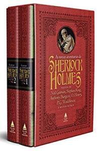 Box - As novas aventuras de Sherlock Holmes - capa dura