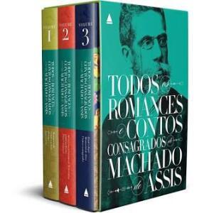 Machado de Assis - Box Todos os romances e Contos
