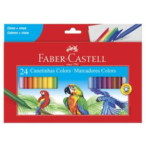 [Prime] Canetinha Hidrográfica 24 Cores, Faber-Castell R$ 17