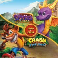 Jogo Bundle Spyro + Crash Remastered - PS4