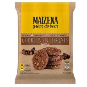 [50% OFF NA 2ª UNIDADE] Cookies Integrais Maizena Cacau 30g | R$1,03 un