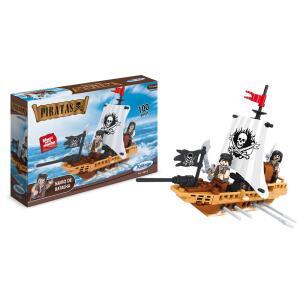 [Prime] Blocos de Encaixe Piratas Navio de Batalha Xalingo R$ 24