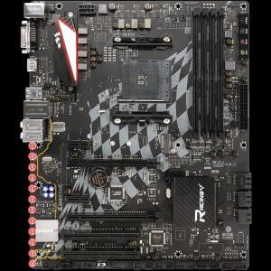 Placa Mãe Biostar Racing X470GTA, Chipset X470, AMD AM4, ATX, DDR4