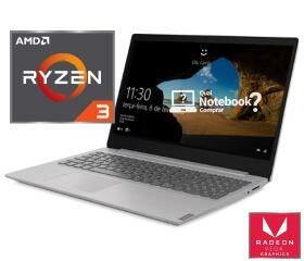Notebook Lenovo Ultrafino Ideapad S145, AMD Ryzen 3-3200U R$1.614