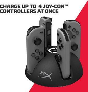 [PRIME]HyperX ChargePlay Quad - Carregador para Joy-Con