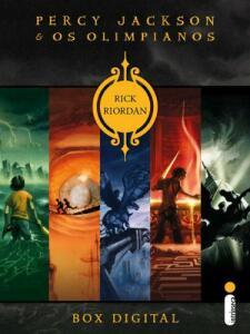 Box Digital Percy Jackson e os Olimpianos