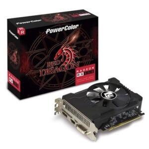 Placa de Vídeo PowerColor Red Dragon AMD Radeon RX 550 2GB, GDDR5 - AXRX 550 2GBD5