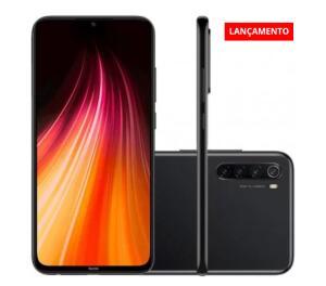 Smartphone Xiaomi Redmi Note 8 64GB Versão Global Desbloqueado Preto R$ 969,99