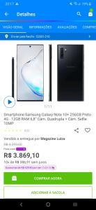 Galaxy Note 10+ 256gb