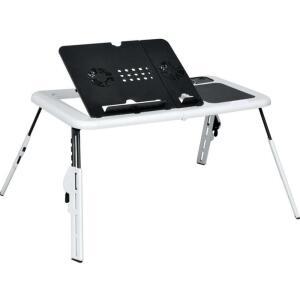 Mesa para notebook suporte com 2 coolers e altura ajustável
