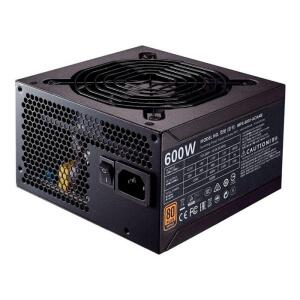 Fonte Cooler Master MWE 600 Bronze 80Plus + Cabo de Força, MPX-6001-ACAAB-BR