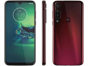 Smartphone Motorola Moto G8 Plus Cereja 64GB