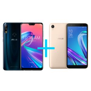 Smartphones Asus Zenfone Max Pro (M2) 4GB RAM 64GB + Zenfone Live L2 OctaCore 435 - R$1484