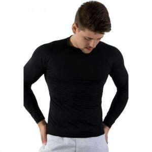 Camisa Térmica Manga Longa Calif Segunda Pele UV 50+ G Preta Masculina | R$ 26,90
