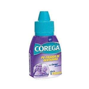 [Prime] Fixador de Dentadura Pó, Corega, Branco, 22g R$ 9
