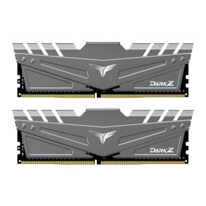 Memoria Team Group 16GB (2x8) DDR4 3200MHz CL16 T-Force Dark Z Cinza TDZGD416G3200HC16CDC01