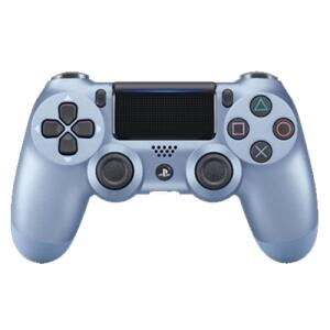 Controle Dualshock 4 - Azul titânio ou roxo, - R$200