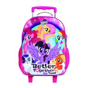 [Prime] Mala Escolar G com Rodinhas My Little Pony R$ 88