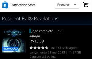 RE Revelations PS3
