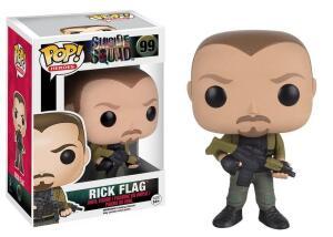Pop Rick Flagg: Esquadrão Suicida #99 - Funko