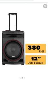 Caixa de Som Acústica Philco PCX6500, Bluetooth, 380W RMS, USB