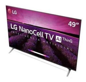 Smart Tv 4k Lg 49 Nanocell Ai 4k Hdr Dolby 49sm8000psa - R$2.299