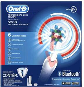 Escova elétrica oral-b professional 5000
