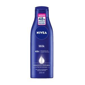Loção Hidratante Corporal Nivea Milk - 200ml | R$7