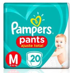 Fralda Pampers Pants - 20 unidades