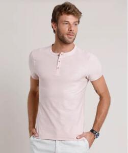 Camiseta masculina slim fit