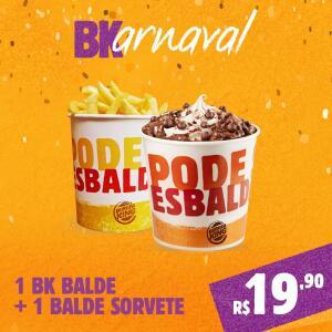 BALDE DE BATATA E BALDE DE SORVETE