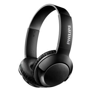 Fone de Ouvido Philips Bass+ SHB3075BK/00 com Microfone e Bluetooth – Preto - Drive de 32mm