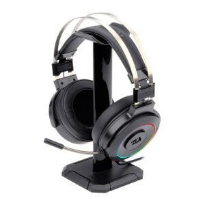 Headset Gamer Redragon Lamia RGB Audio 7.1 + Suporte