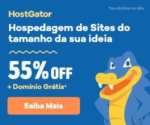 Hospedagem de Sites com 55% de Desconto. Domínio Grátis*