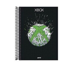 Caderno Capa Dura Xbox - 10 Matérias