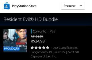 Resident Evil HD Bundle PS3