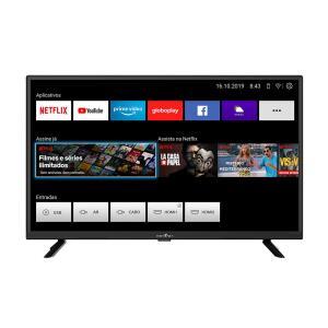 "Smart TV LED 32"" HD Britânia BTV32G52S | R$899"