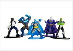 Nano Metalfigs DC Comics Pack C (Set de 5) - DTC
