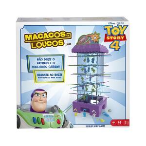 Jogo Macacos Loucos Toy Story 4 Mattel Disney Pixar R$ 75