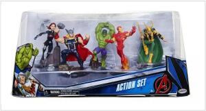 Domo com Figuras: Vingadores - Sunny - Toyshow