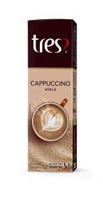 (Prime) Cápsula de Cappuccino Avelã Três, Compatível com Três, Contém 10 Cápsulas