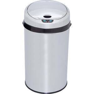 Lixeira Automática Inox Noutoc 12L - Fun Clean | R$ 180