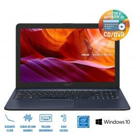 Notebook Asus X543MA Intel Celeron N4000 4 GB RAM HD 500 GB