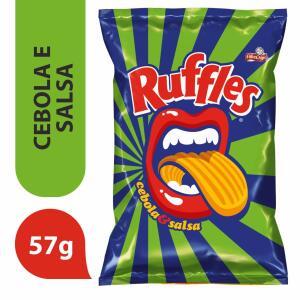 Batata Frita Sabor Salsa e Cebola RUFFLES 57g