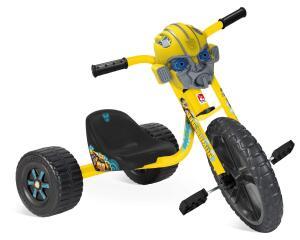 Triciclo Velotrol Transformers Bandeirante Amarelo R$360